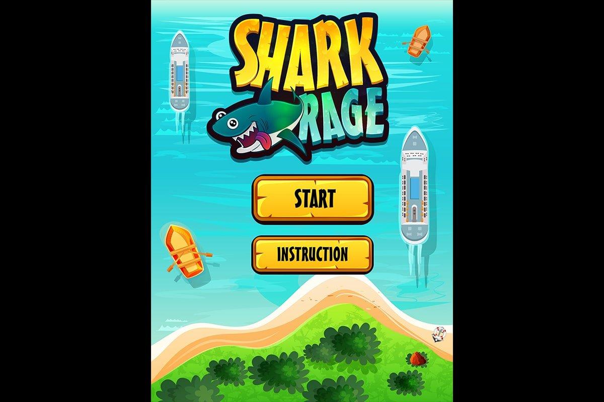Shark-Rage-home-screen