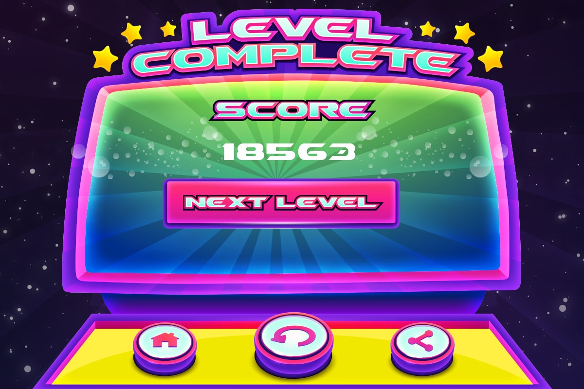 Typeroids-Mission-Level-Complete-Screen
