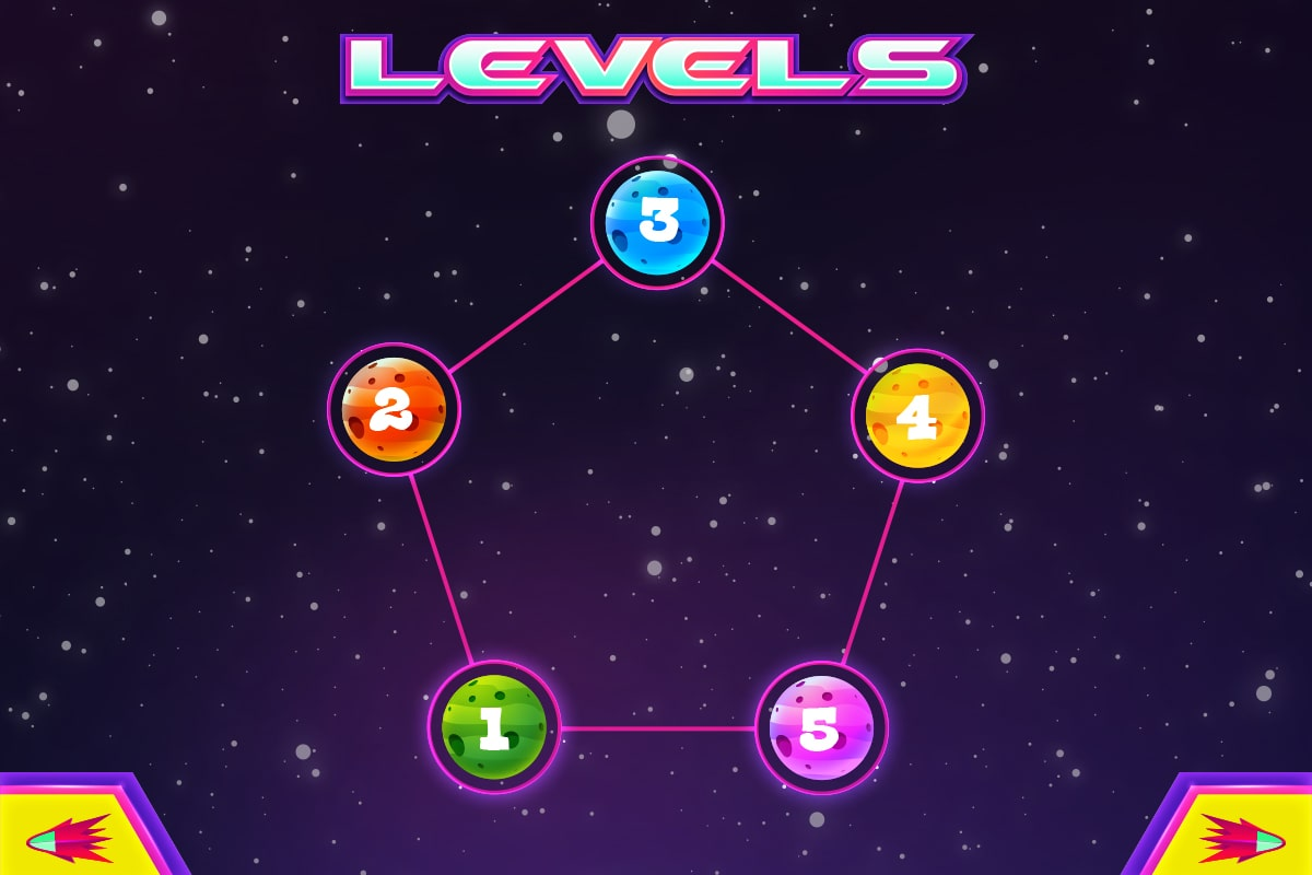 Typeroids-Mission-Levels-Screen