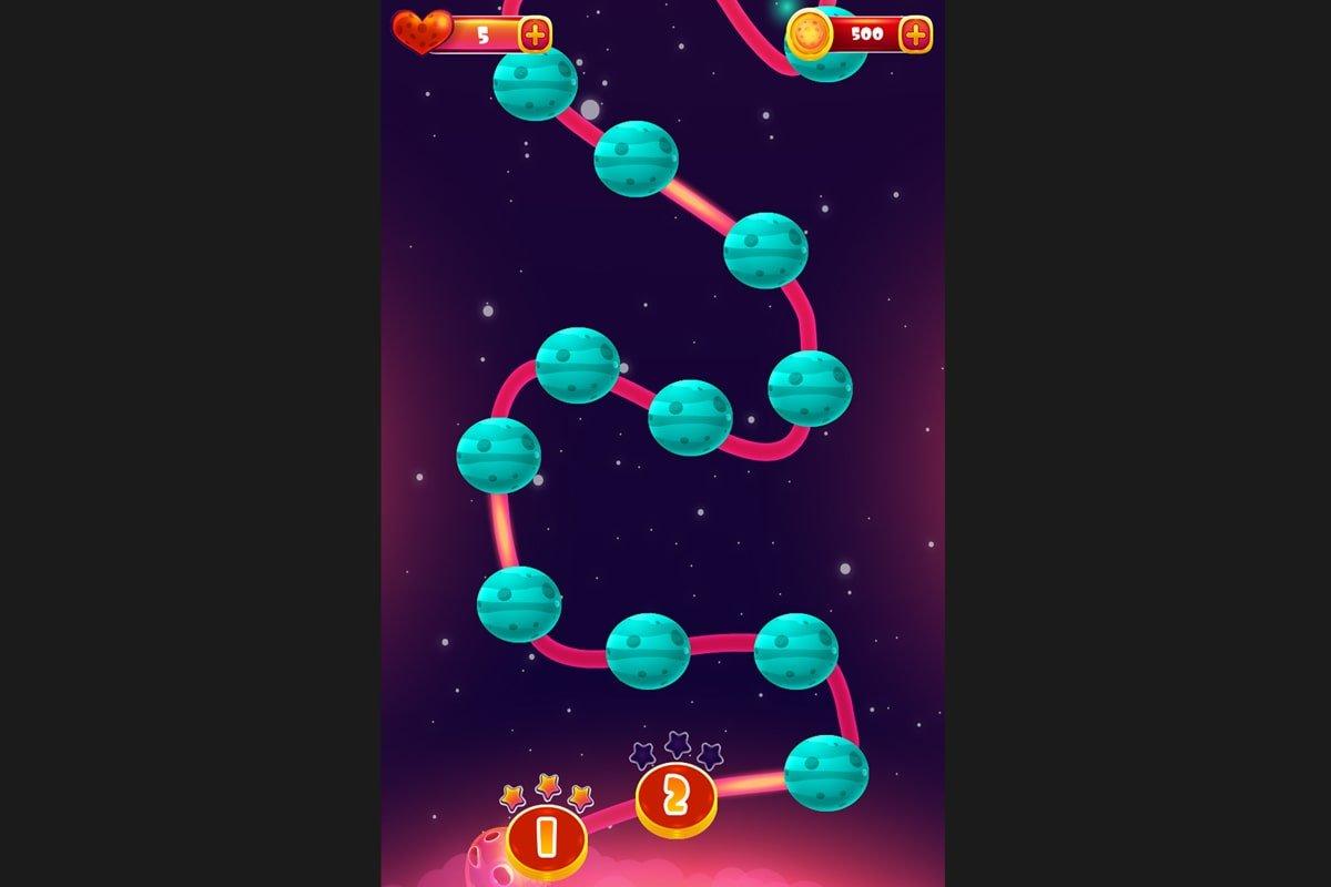 Universe-Shooter-Map-Screen